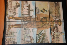 Albert 1er & Vues De Bruxelles / Albert 1ste & Zichten Van Brussel - Puzzle - Familias Reales