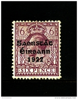 IRELAND/EIRE - 1922  6 D. FREE STATE  MINT  SG 60 - 1922-37 Stato Libero D'Irlanda