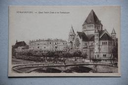 STRASBOURG (Bas-Rhin), Quai Saint-Jean Et La Synagogue - Strasbourg