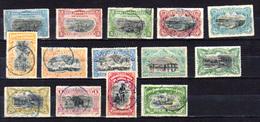 1894    Mols, Paysages,  14 / 29 Ob, Cote 150 €, - Belgisch-Kongo