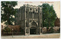 BURY ST EDMUNDS : ABBEY GATE / POSTMARK - BURY ST EDMUNDS - Angleterre