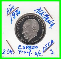 ALEMANIA - GERMANY  MONEDA DE 2.00 DM. AÑO 1976-J  CALIDAD  PROOF S/C  KONRAD ADENAUER - [ 7] 1949-… : RFA - Rep. Fed. Alemana