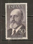 España/Spain-(MH/*) - Edifil  1165 - Yvert Aéreo 265 - Unused Stamps