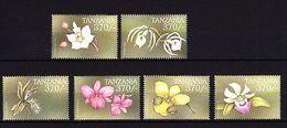 Tanzania 1999 Orchids MNH - Unclassified