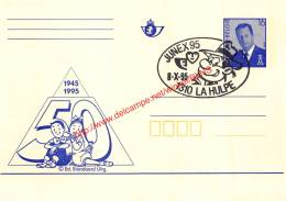 50 Jaar Suske En Wiske - 1995 - Junex 95 La Hulpe - Entiers Postaux