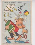 """Illustratore Jacovitti 1954 """"la Fine Di Marcello L'asinello...bocciato"""" - Illustrateurs & Photographes"""
