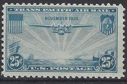 Estados Unidos Aereo 021 ** MNH. 1935 - Air Mail