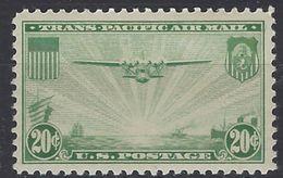 Estados Unidos Aereo 022 ** MNH. 1937 - Air Mail