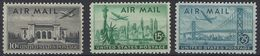 Estados Unidos Aereo 036/38 ** MNH. 1947 - Air Mail