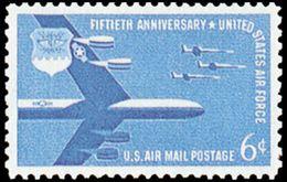 Estados Unidos Aereo 049 ** MNH. 1957 - Air Mail