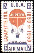 Estados Unidos Aereo 053 ** MNH. 1959 - Air Mail