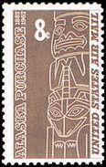 Estados Unidos Aereo 066 ** MNH. 1967 - Air Mail