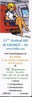 Marque Page Salon BD De LIGUGE 2008 Par WALTHERY - Marque-pages