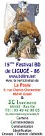 Marque Page Salon BD De LIGUGE 2010 Par GESS - Marque-pages