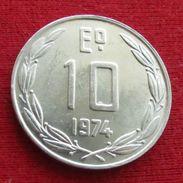 Chile 10 Escudos 1974 KM# 200 Chili - Chile