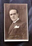 Autografo Su Foto - Aurelio Cattaneo - Musicista Compositore - Autographs