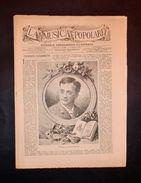 Musica - La Musica Popolare - Giornale - Federico Carbonetti - 17 Maggio 1883 - Bücher, Zeitschriften, Comics