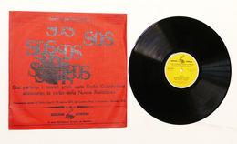 LP Disco 33 Giri Archivi Sonori - S.O.S. Sicilia Occidentale Radio Libertà 1970 - Dischi In Vinile