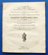B.B. Irico - Farmacia Saggio Chimico Teorico Pratico Sul Cianogeno - Ed.  1822 - Libri, Riviste, Fumetti