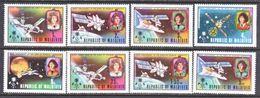 MALDIVES  480-87    **   *     SPACE  &  COPERNICOS - Space