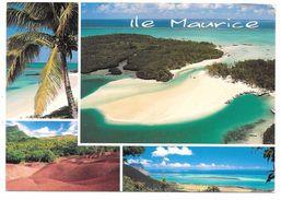 ILE MAURICE - MAURITIUS - Multivues: L'ILE AUX CERFS, LE MORNE, CHAMAREL, GRAND BAIE - Arts Distribution & Cie - Maurice