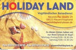 SNAIL * SHELL * CLAM * PEARL OYSTER STARFISH * ANIMAL * TRAVEL BUREAU * PLAUEN * CALENDAR * Holiday Land 2011 * Germany - Calendriers