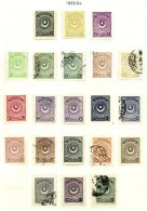 TURKEY, Yv 668/86, */o M/U, F/VF, Cat. € 175 - 1921-... República