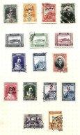 TURKEY, Yv 727/28, 734, 737, 741/49, 773, 784, */o M/U, F/VF, Cat. € 27 - 1921-... República