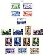 TURKEY, Yv 1129, 1132/43, 1161/63, * MLH, F/VF, Cat. € 22 - 1921-... République