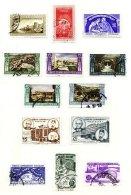 TURKEY, Yv 1179/80, 1187/91, 1193/94, 1216/18, */o M/U, F/VF, Cat. € 35 - 1921-... République