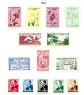 TURKEY, Yv 1235/43, 1222/26, * MLH, F/VF, Cat. € 17 - 1921-... République