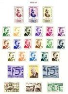 TURKEY, Yv 1297/1316, 1320/23, 1327/28, * MLH, F/VF, Cat. € 10 - 1921-... République
