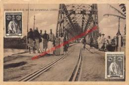 Ponte Do C.F.B. No Rio Catumbela - Lobita - Angola - Angola