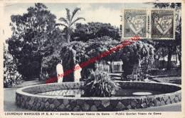 Lourenço Marques - Jardim Municipal Vasco Da Gama - Mozambique