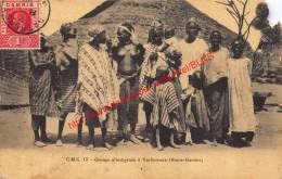 Groupe D'indigènes à Yarbutenda - Haut-Gambie - Gambia - 1920 - Gambie