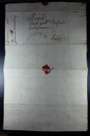 Belgium  1700 Local Complete Letter  Waxsealed - 1621-1713 (Países Bajos Españoles)