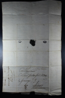 Belgium  1707  Complete Letter  Tpo Antwerp Waxsealed - 1621-1713 (Países Bajos Españoles)