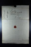 Belgium  1700 Complete Letter  Tpo Antwerp Waxsealed - 1621-1713 (Paesi Bassi Spagnoli)