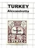 TURKEY, Alexandretta, * MLH, F/VF - Alexandrette (1938)