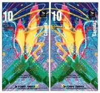 CANADA 1992 Winter Olympic Games, Albertville: Pair Of Booklets UM/MNH - Cuadernillos Completos/libretas Completas