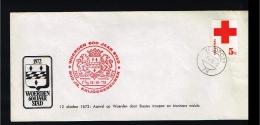 1972 - Nederland Veldpost  - 300 Jaar Krijgsgebeuren - Woerden 600 Jaar Stad [P13_073] - 1949-1980 (Juliana)