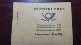 "DDR BOOKLET COMPLETE 1960, ""5Yrs PLAN""  MNH - DDR"