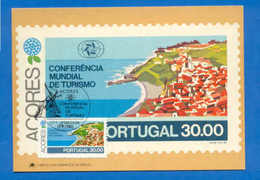 PC MAXIMUM CARD AZORES AÇORES PORTUGAL CORVO V. ROSÁRIO  Z1 - Maximum Cards & Covers