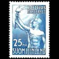 FINLAND 1953 - Scott# 309 Temperance Set Of 1 MNH - Nuovi