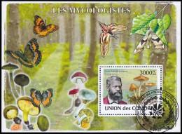 COMORO ISLANDS - SW1041 Peter Adolph Karsten / Used Souvenir Sheet (ss349) - Comoros