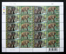 Thailand Stamp FS 2003 10 Year Of Diplomatic South Africa - Thai (Elelphants) - Thailand