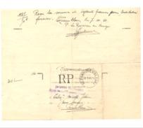 Lettre En Recommandé - Ministère Des Finances - Blegny - Trembleur 1941 - Marcophilie - Cachets Généralité