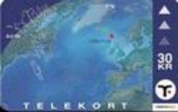 TK 30769 FAROER ISLANDS - Satellite View - Faroe Islands