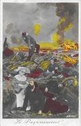 Le Dévouement Au Blessé - None Et Soldat - A.N. Paris - Carte Colorisée N° 541 - Patriottisch