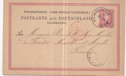96310 - VIC SUR SEILLE - Storia Postale